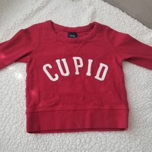Valentine's day themed sweater